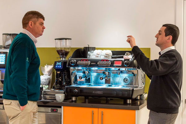 Learning how to make the perfect cup of coffee